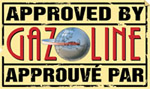 Gazoline logo appoved by